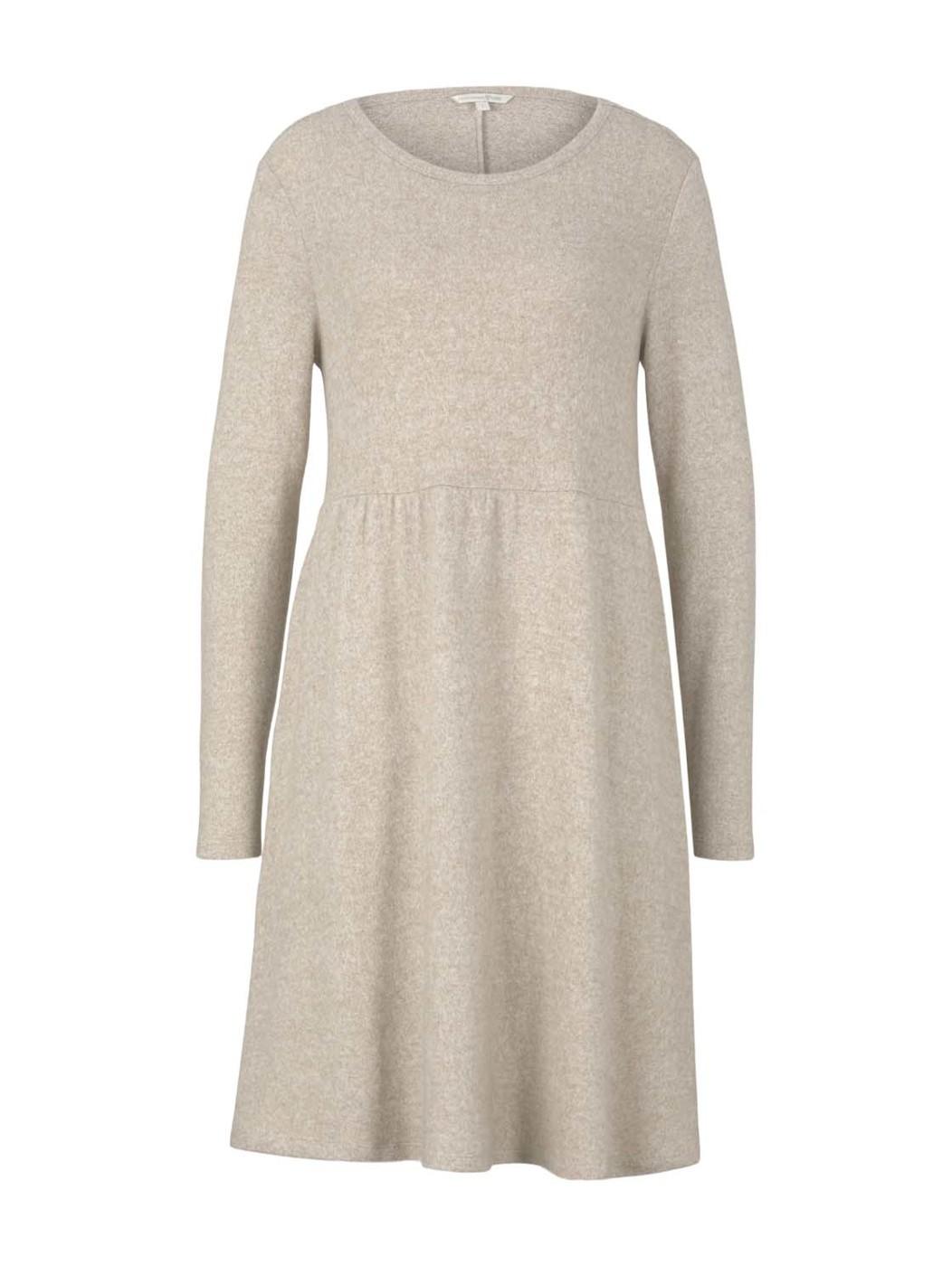 cozy mini  dress - Damen