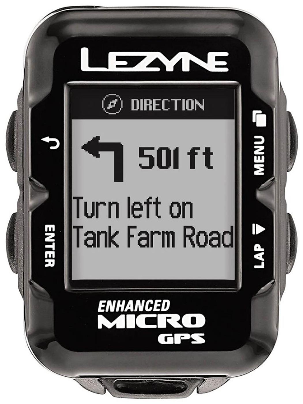 LEZYNE Radcomputer MICRO GPS schwarz