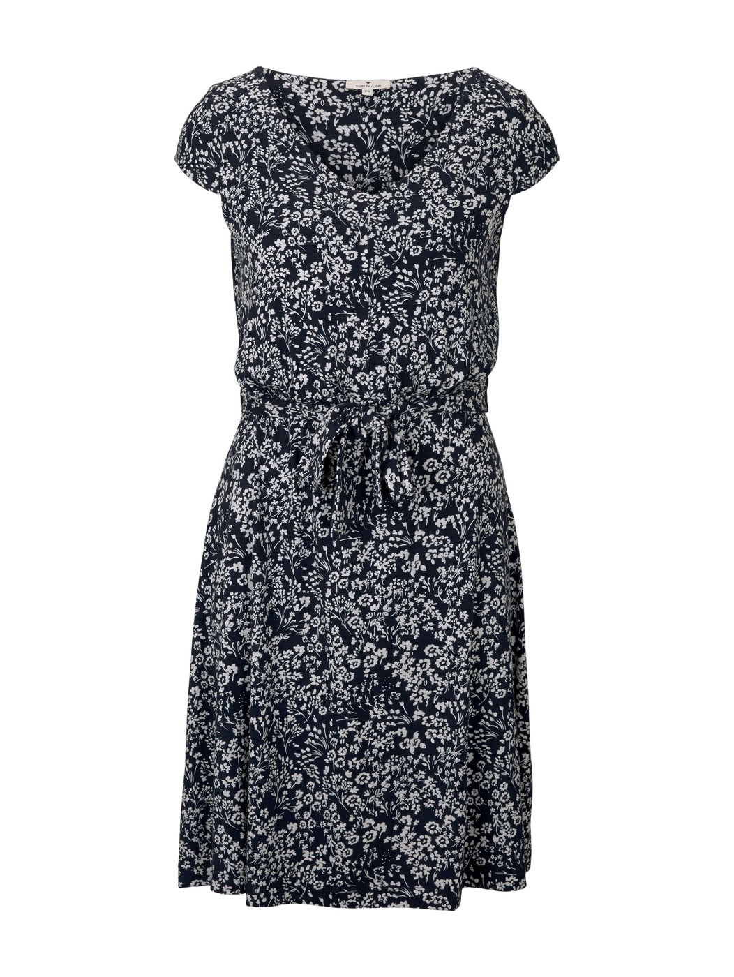 dress with belt and sleeves - Damen