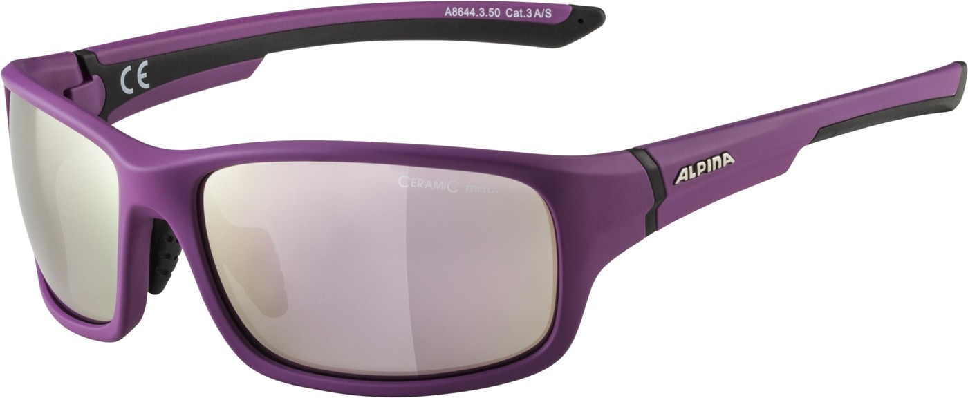 Alpina Lyron S purple m.-black CMRGo