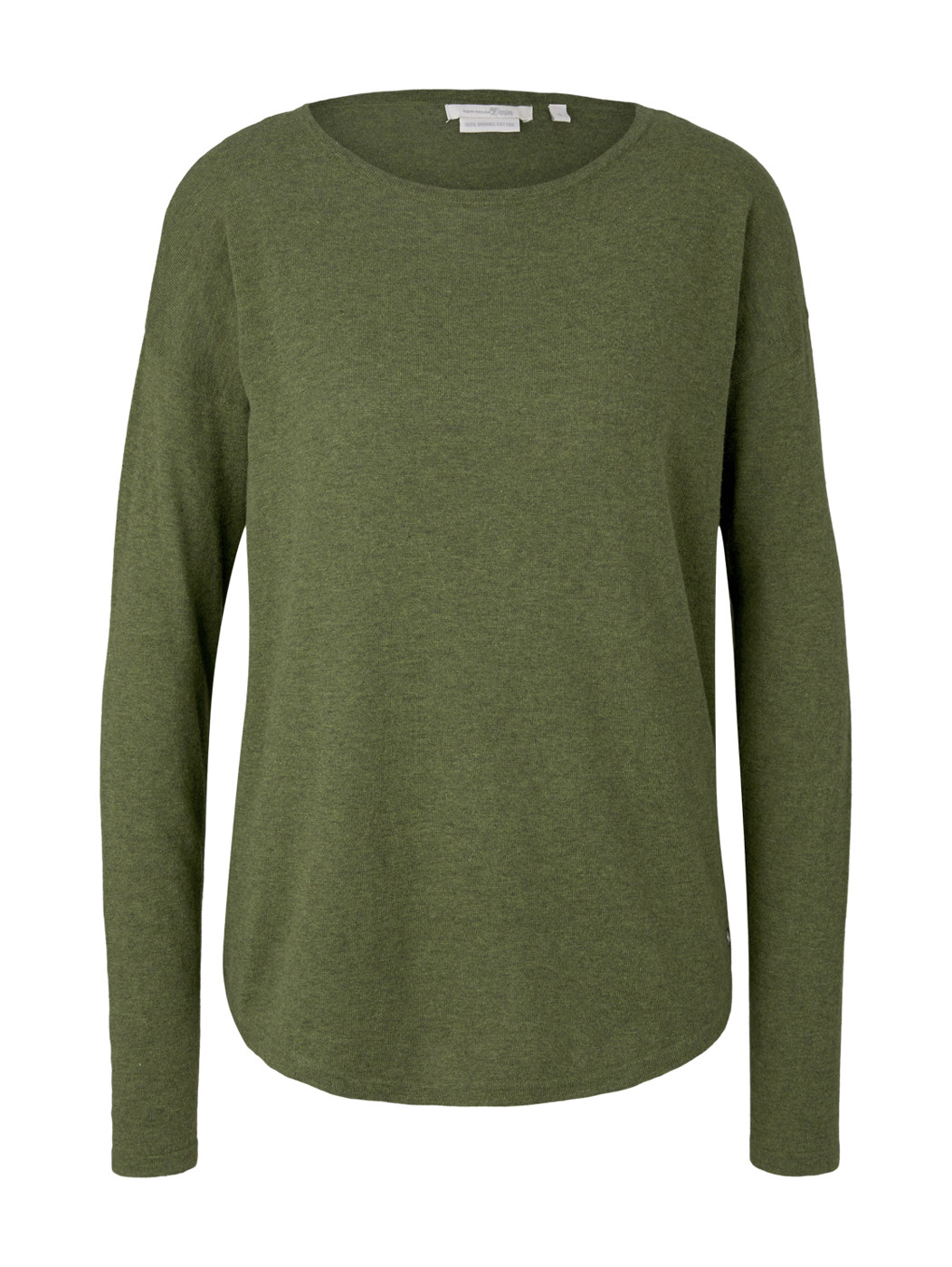 basic boat neck pullover - Damen