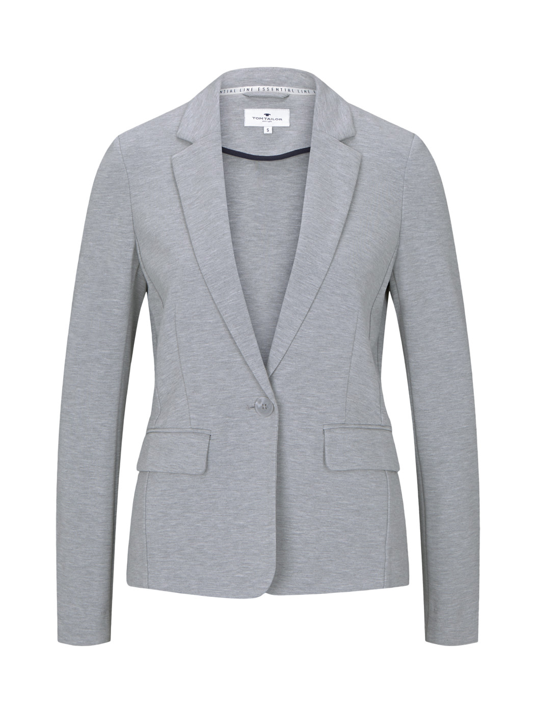 blazer with lapel collar - Damen