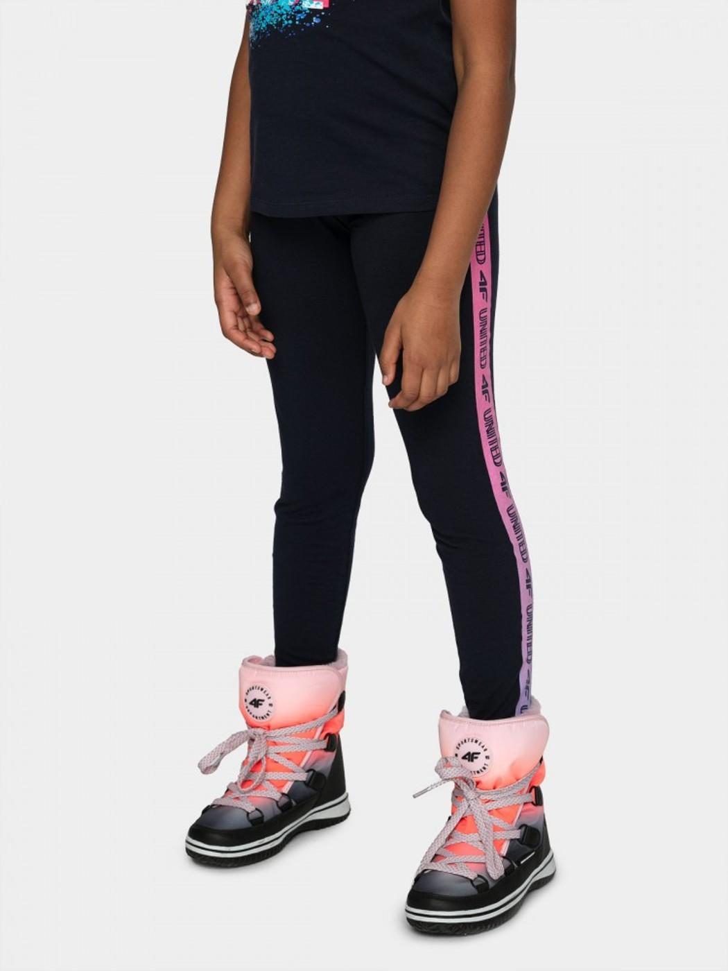 4F GIRL S LEGGINGS JLEG003A - Kinder