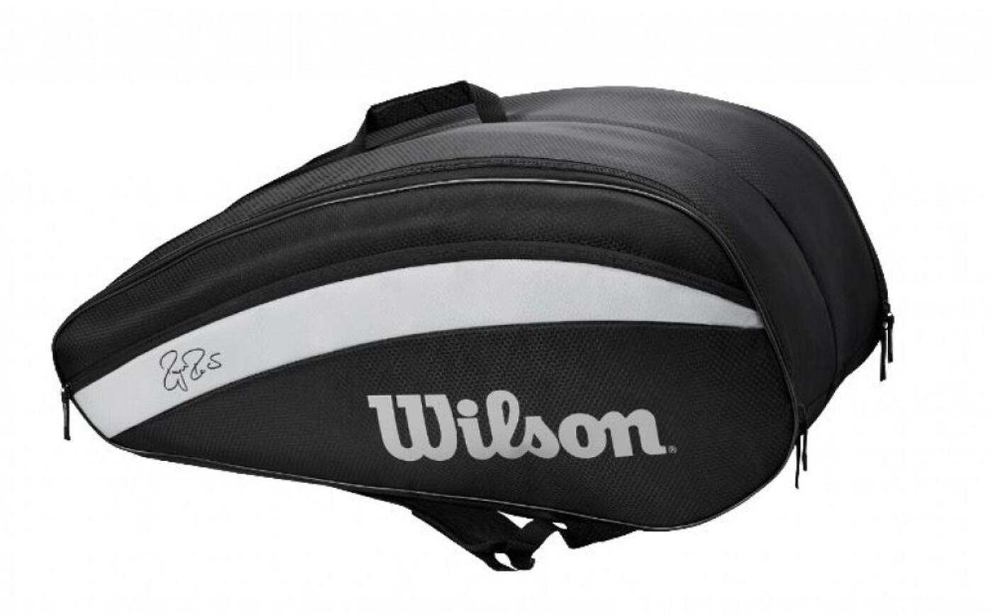 WILSON RF TEAM 6 PACK BLACK