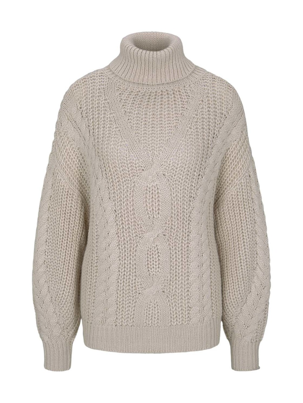 cable knit pullover - Damen