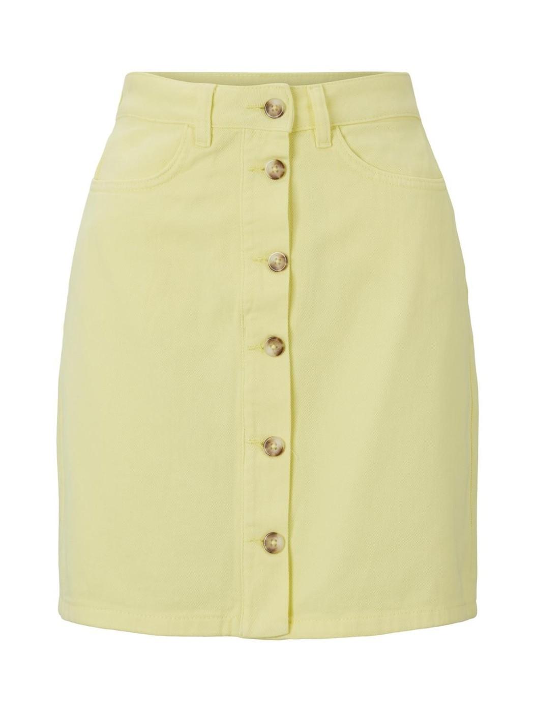 coloured mini skirt - Damen