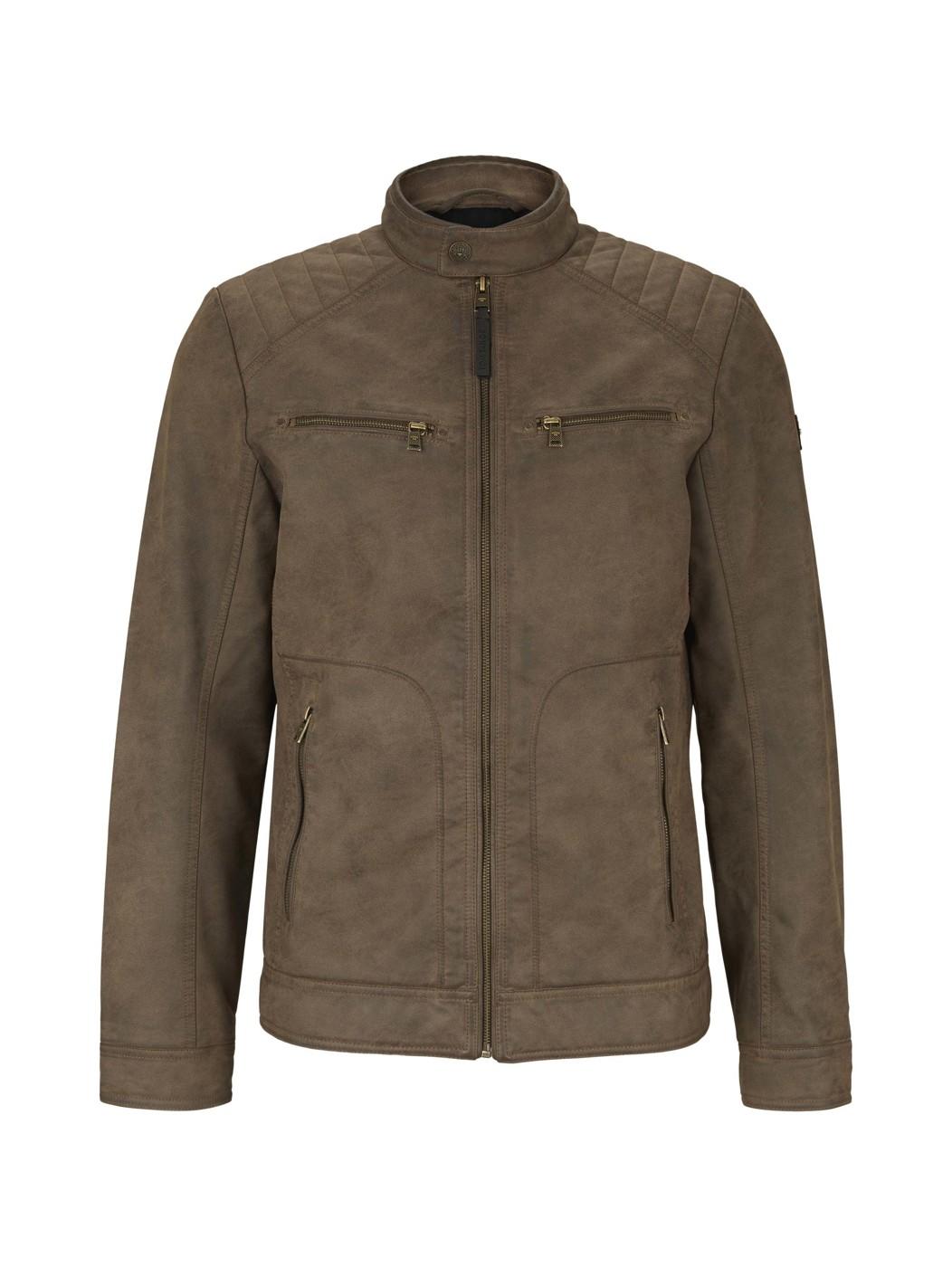 biker jacket suede - Herren