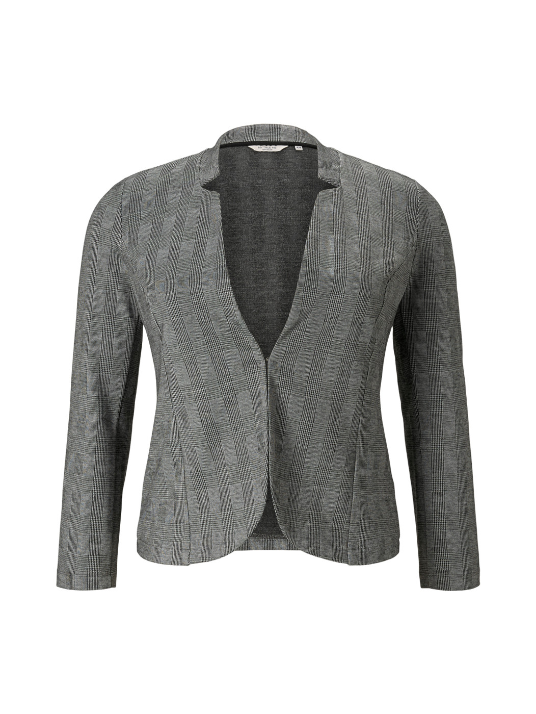 TOM TAILOR  blazer with check - Damen