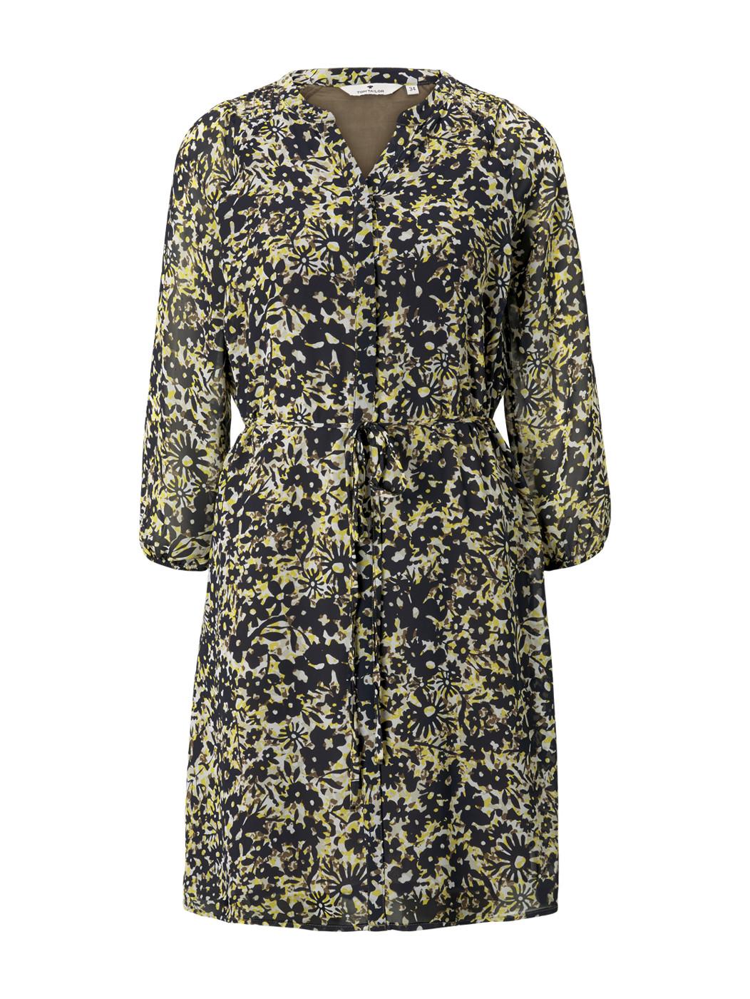 dress with smocking - Damen
