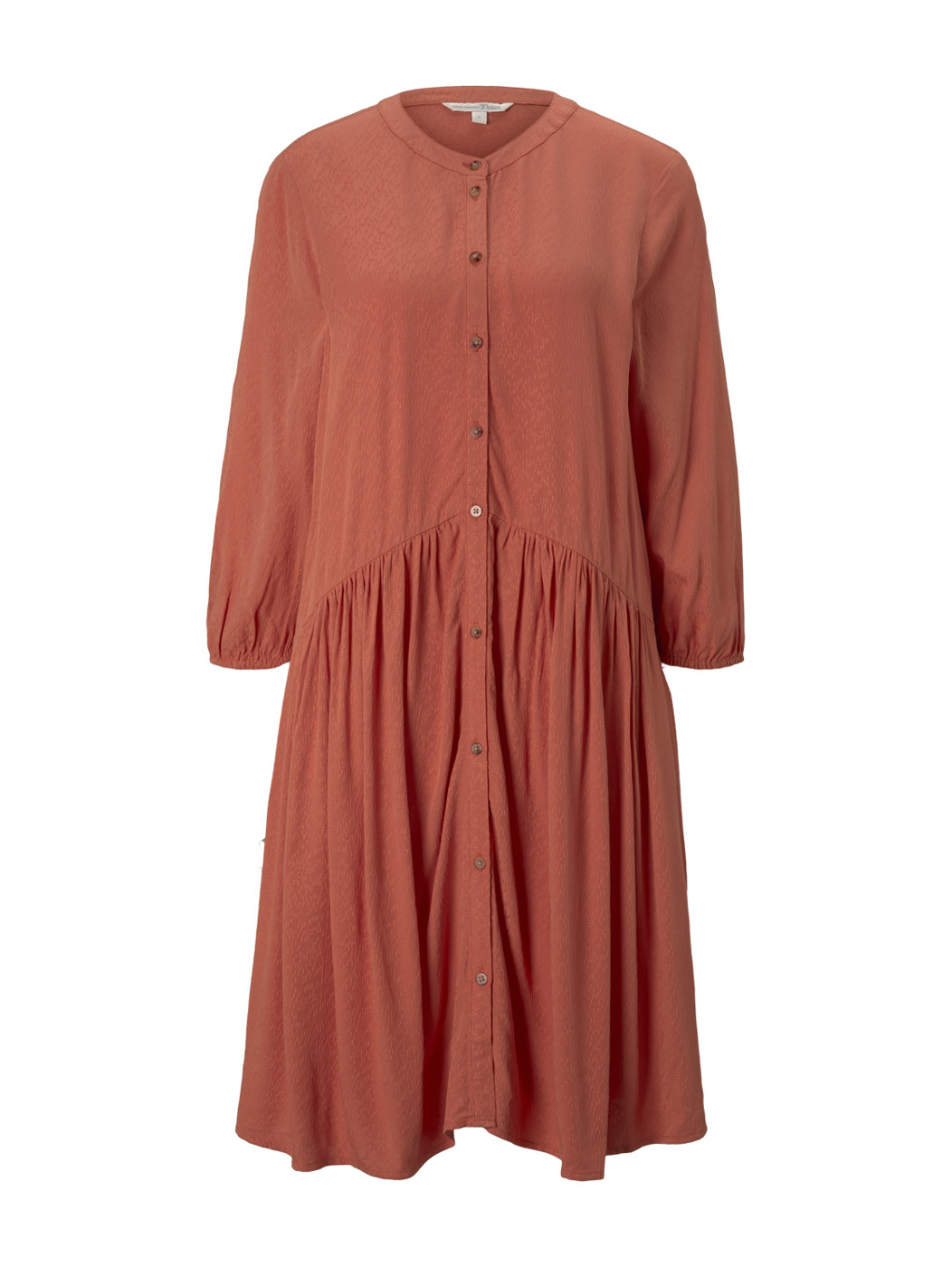 dress with button down placket - Damen