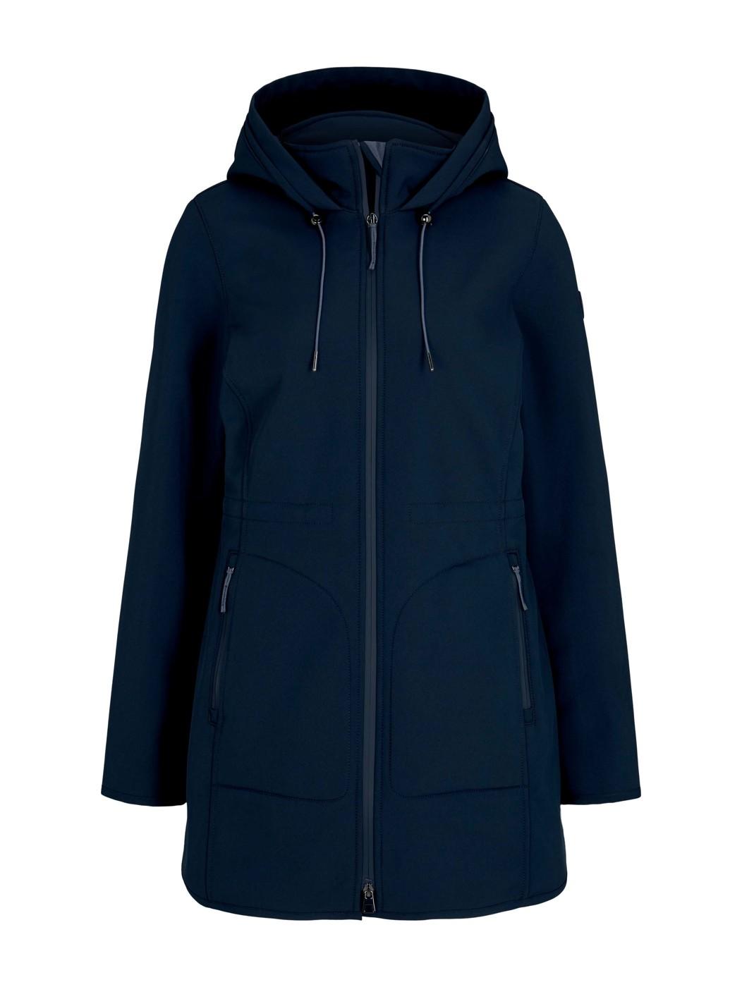 casual softshell coat - Damen