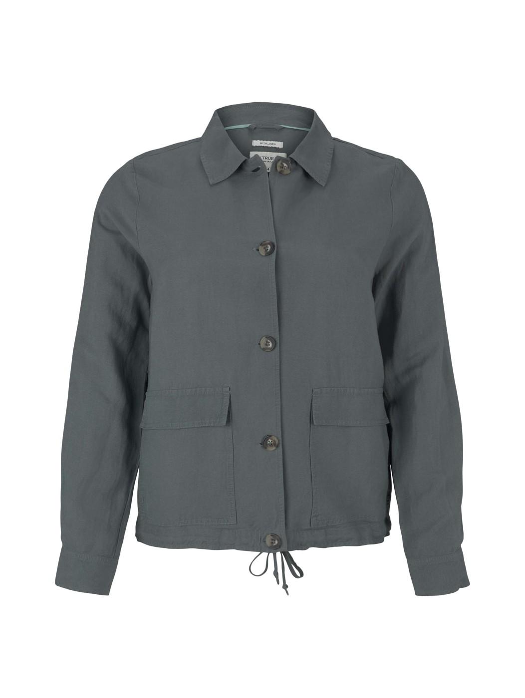 TOM TAILOR  blazer jacket with pockets - Damen