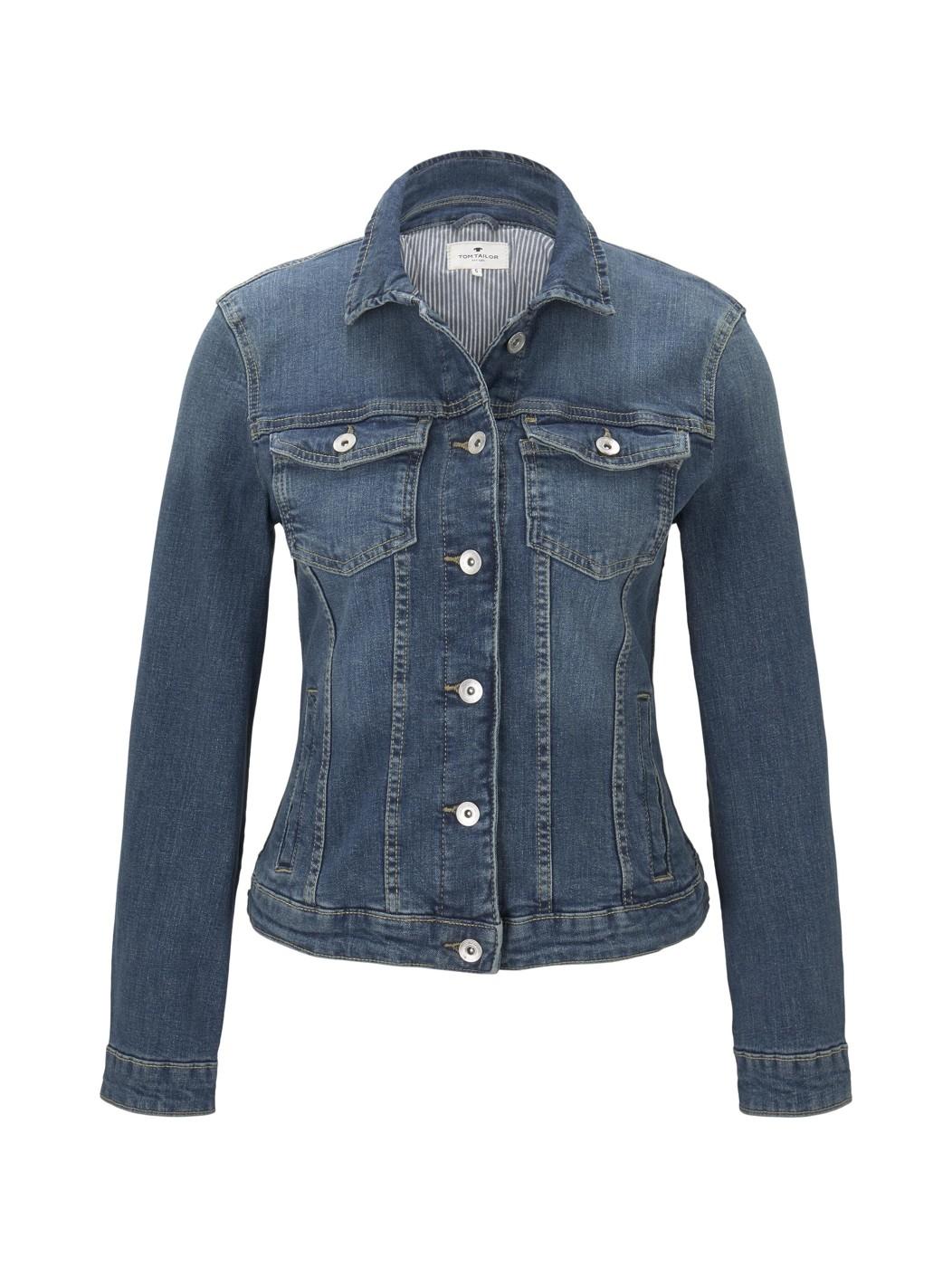 authentic denim jacket - Damen