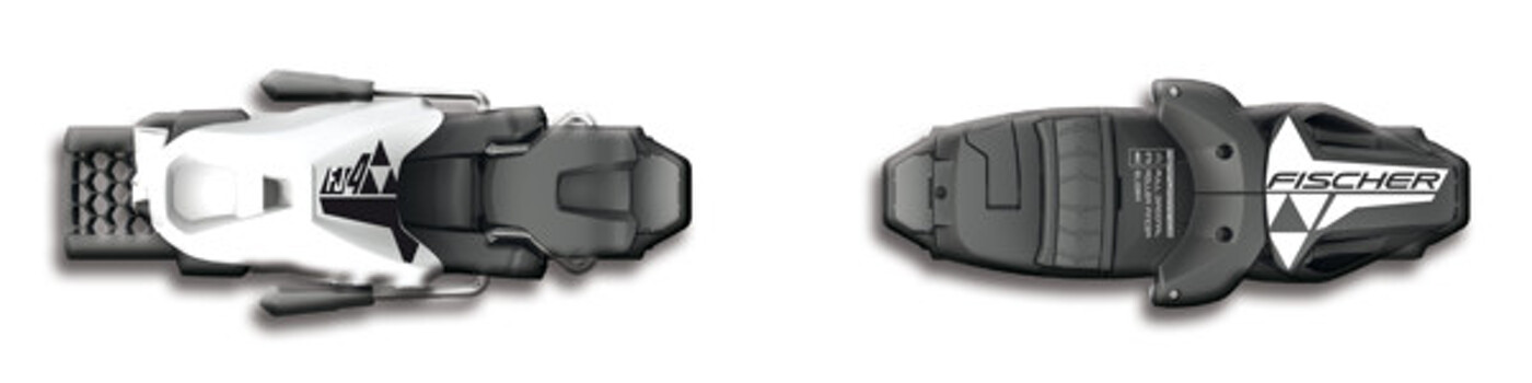 FISCHER FJ4 AC SLR BRAKE 74 [I] SOLID BLACK