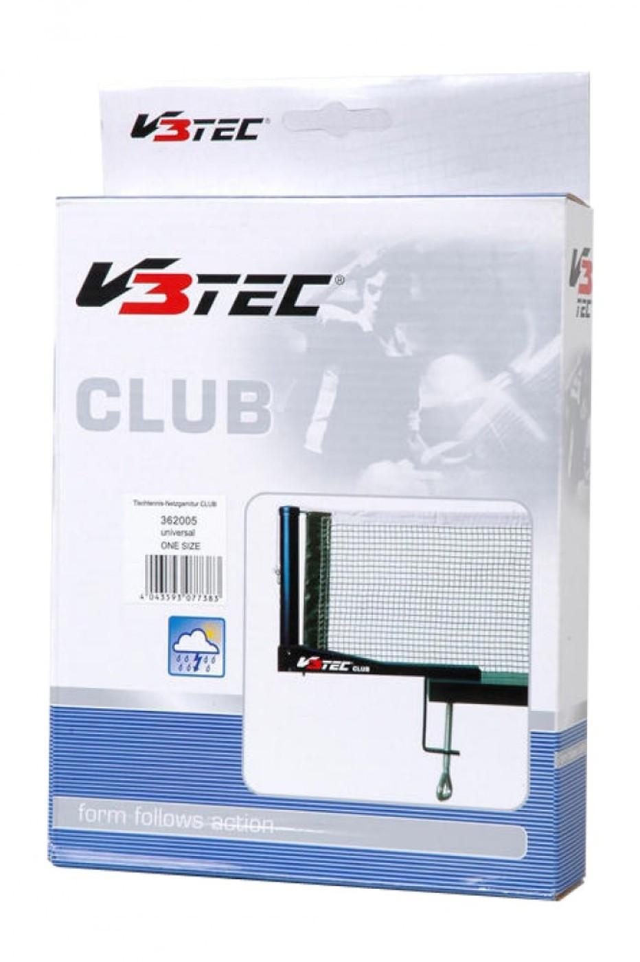 V3TEC Tischtennis-Netzgarnitur CLUB