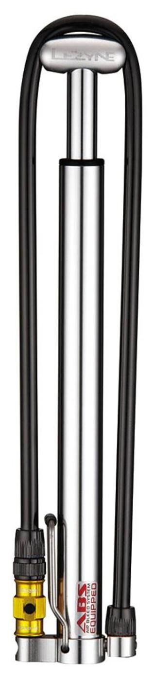 LEZYNE Minipumpe MICRO FLOOR DRIVE HP, silber
