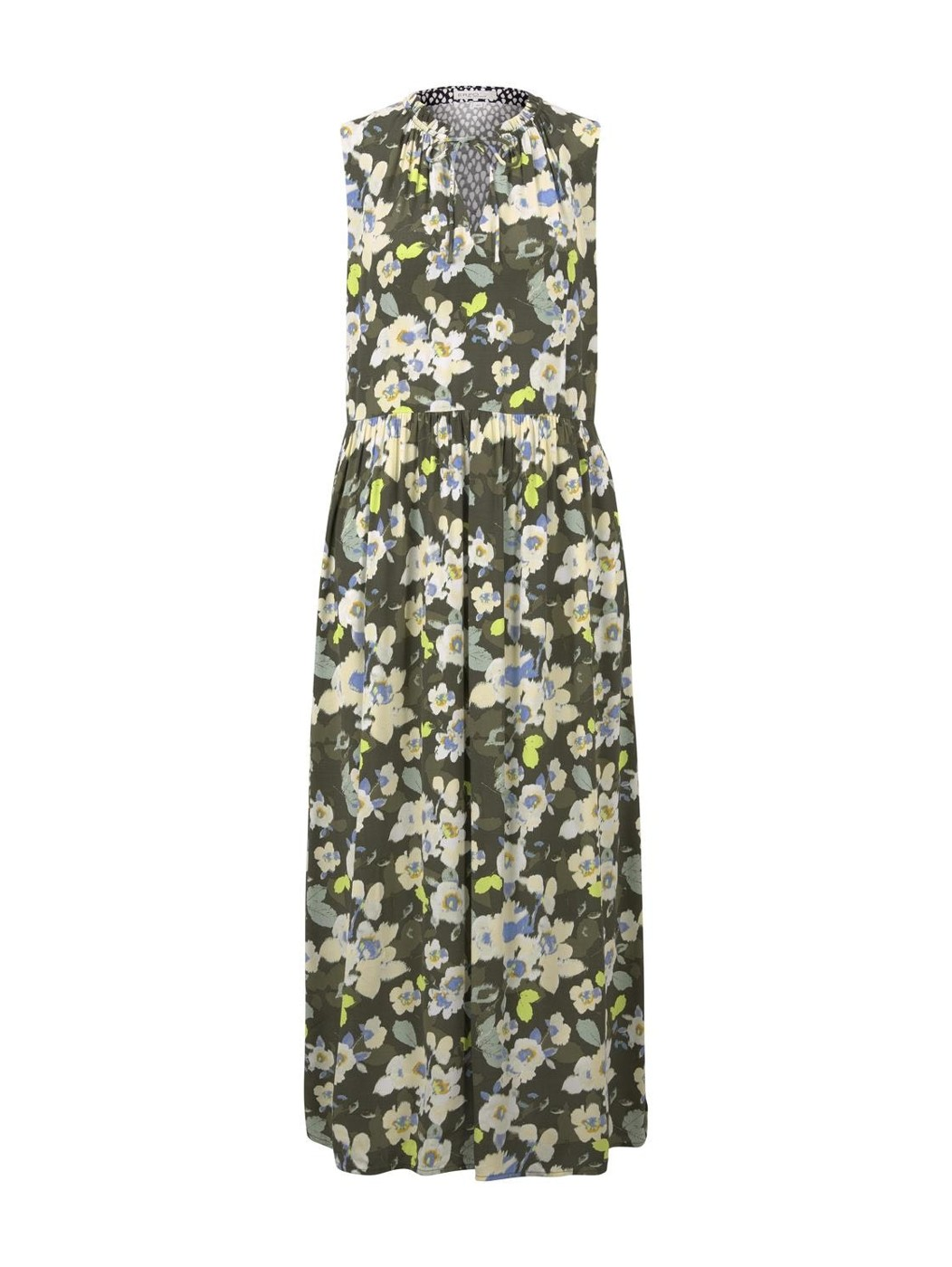 dress printed maxi - Damen