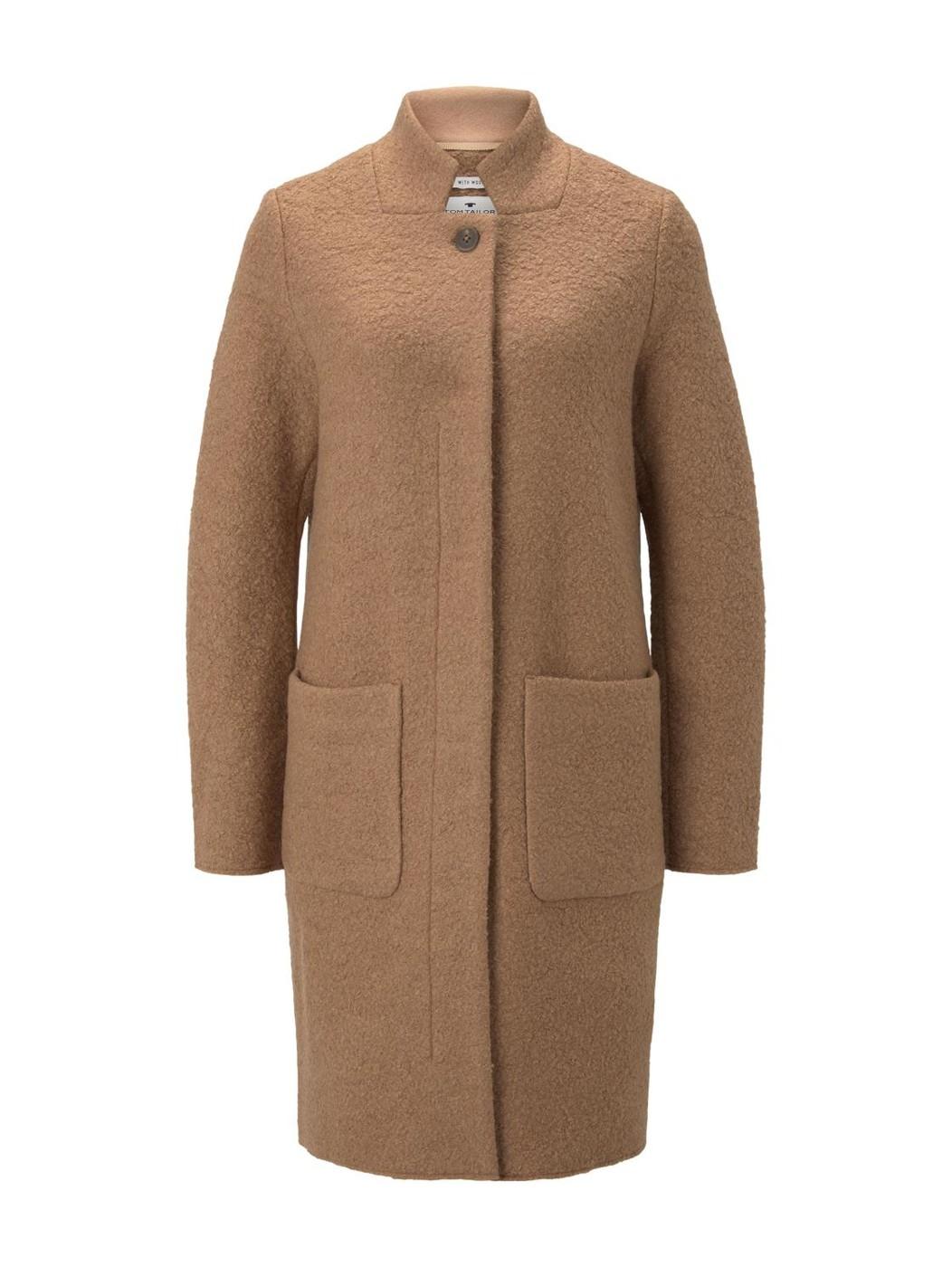 boucle coat - Damen