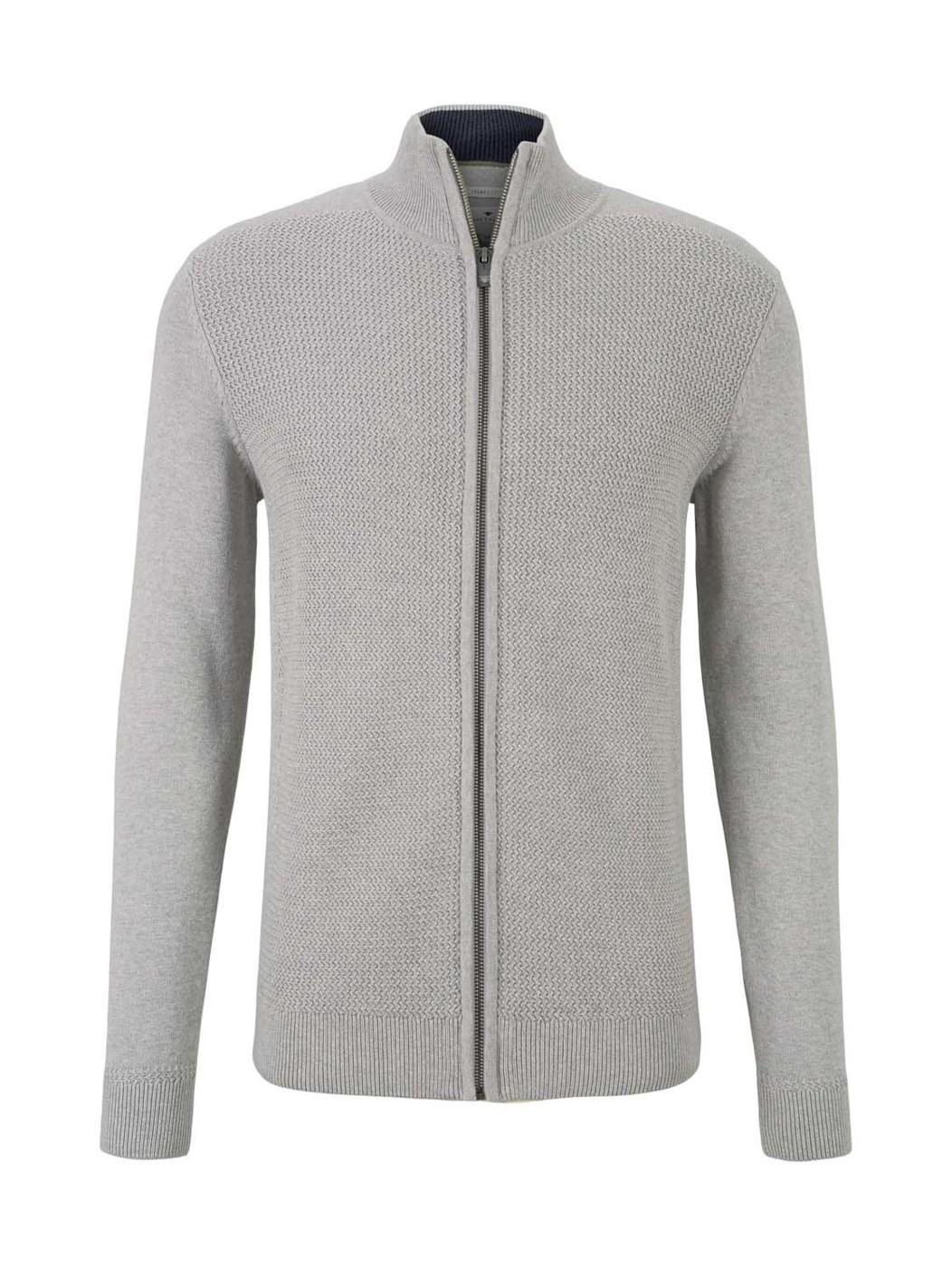 basic structure zip jacket - Herren
