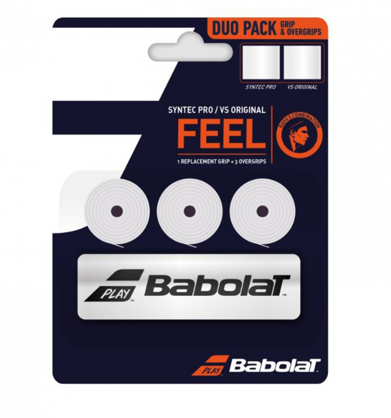 BABOLAT Duo Pack(SyntecPro+3x VS Grip)