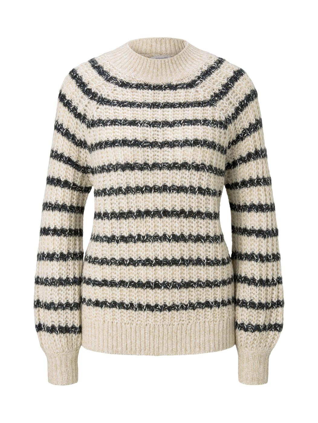 chunky stripe pullover - Damen
