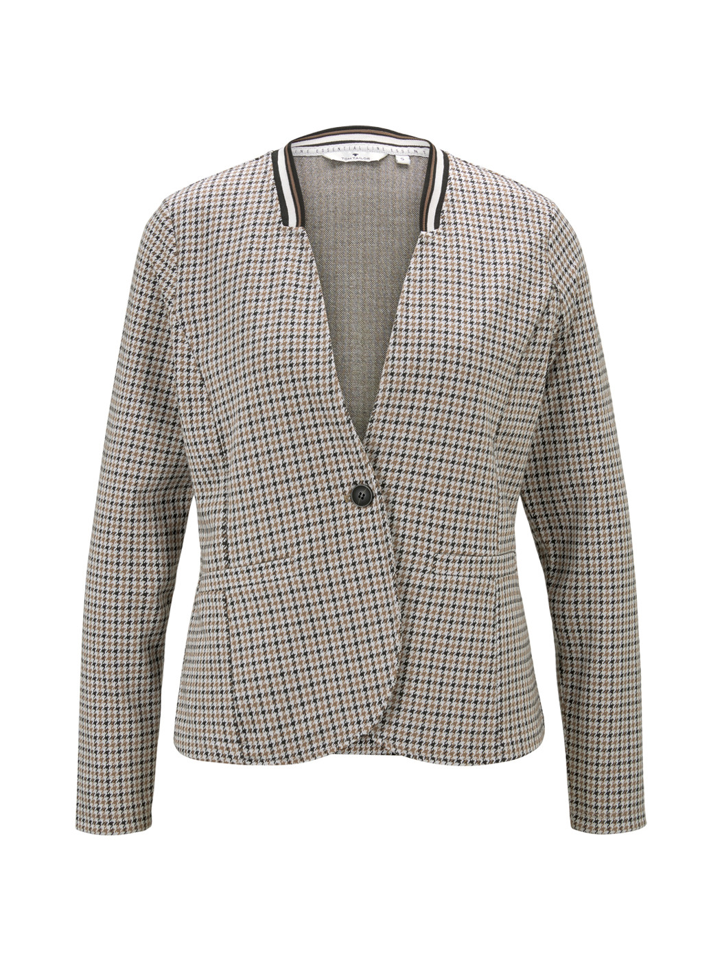 check blazer - Damen