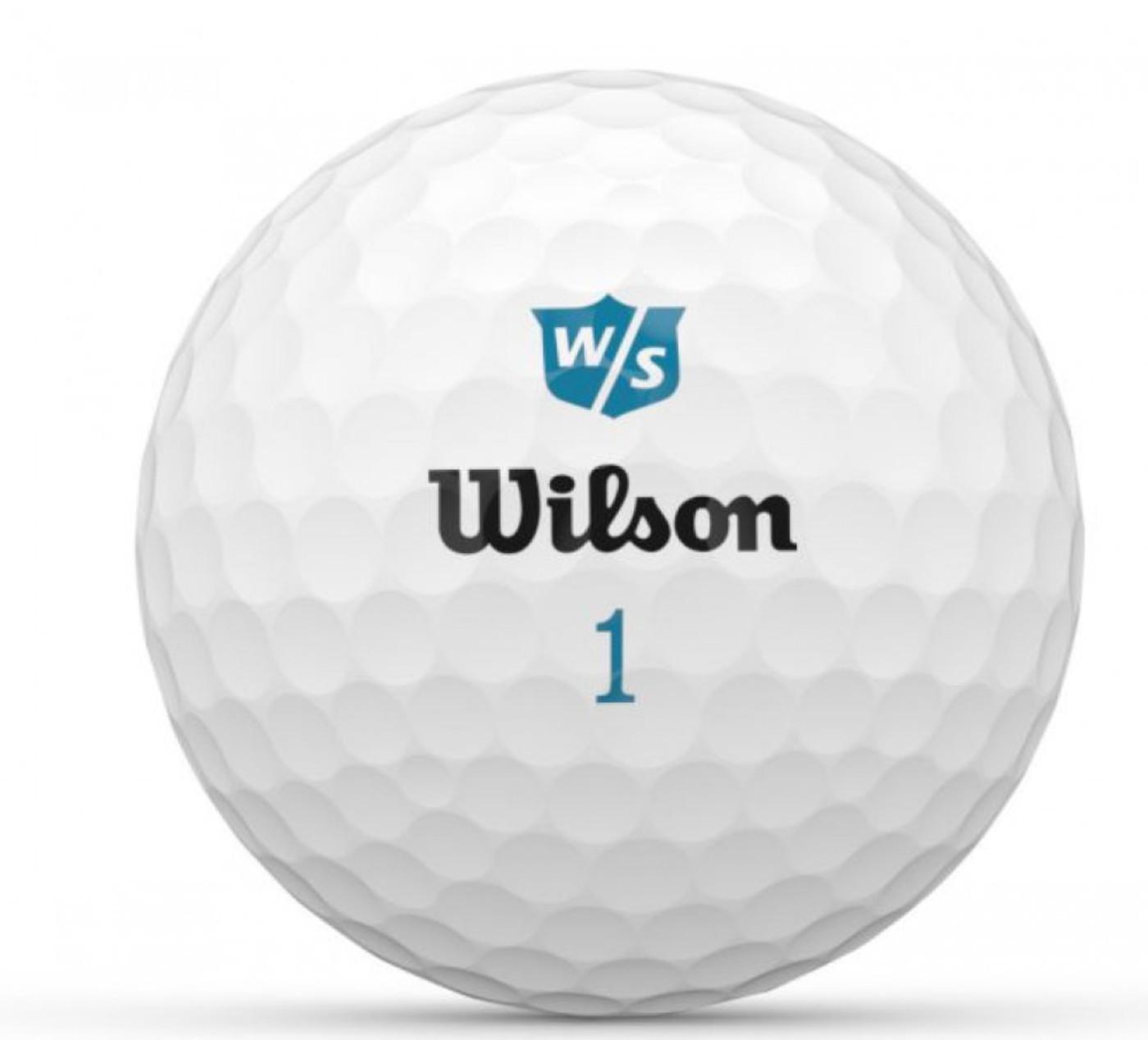 WILSON DUO SOFT+ WHITE 12-BAL - Damen