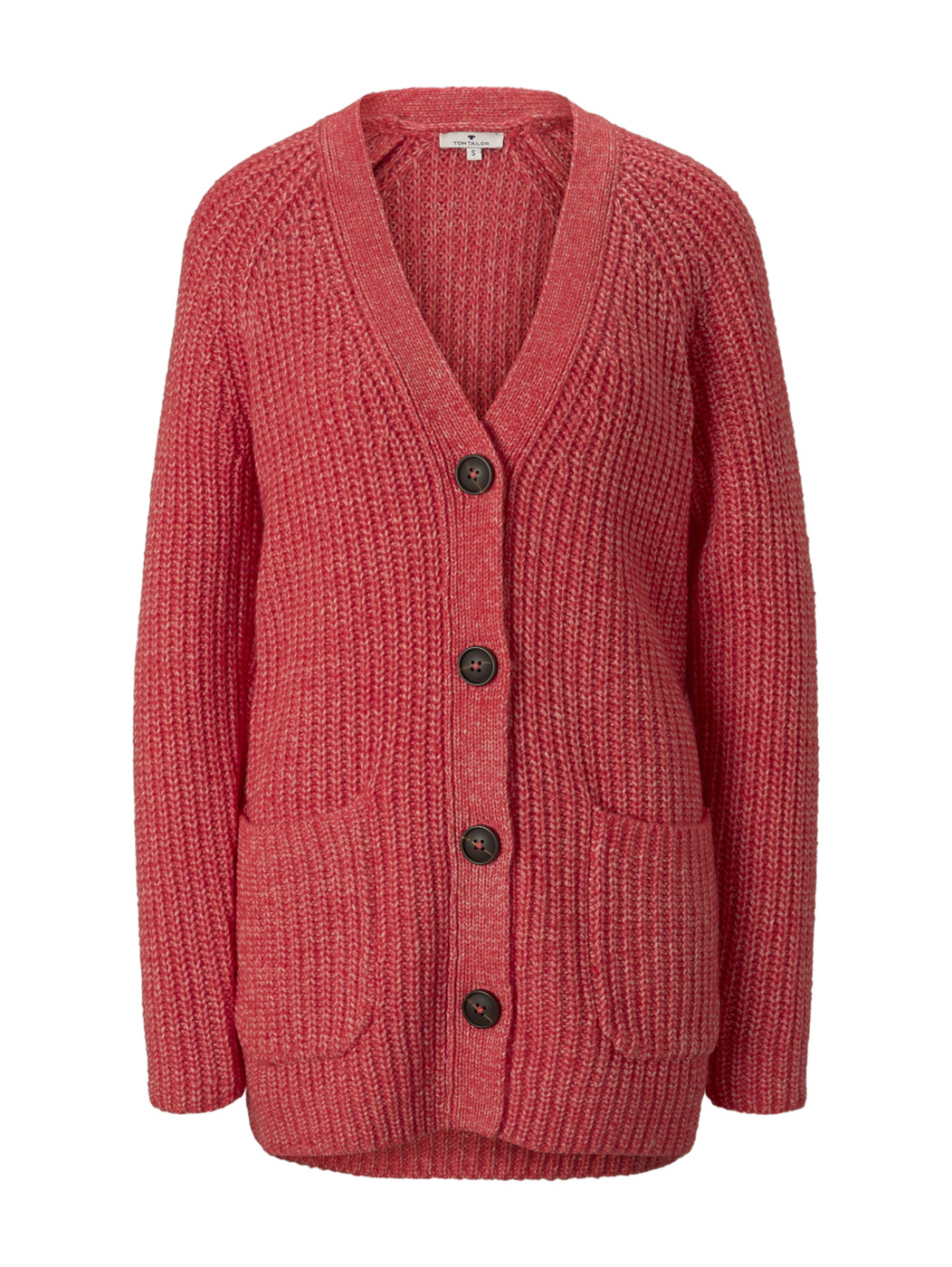 cardigan in mouline yarn - Damen
