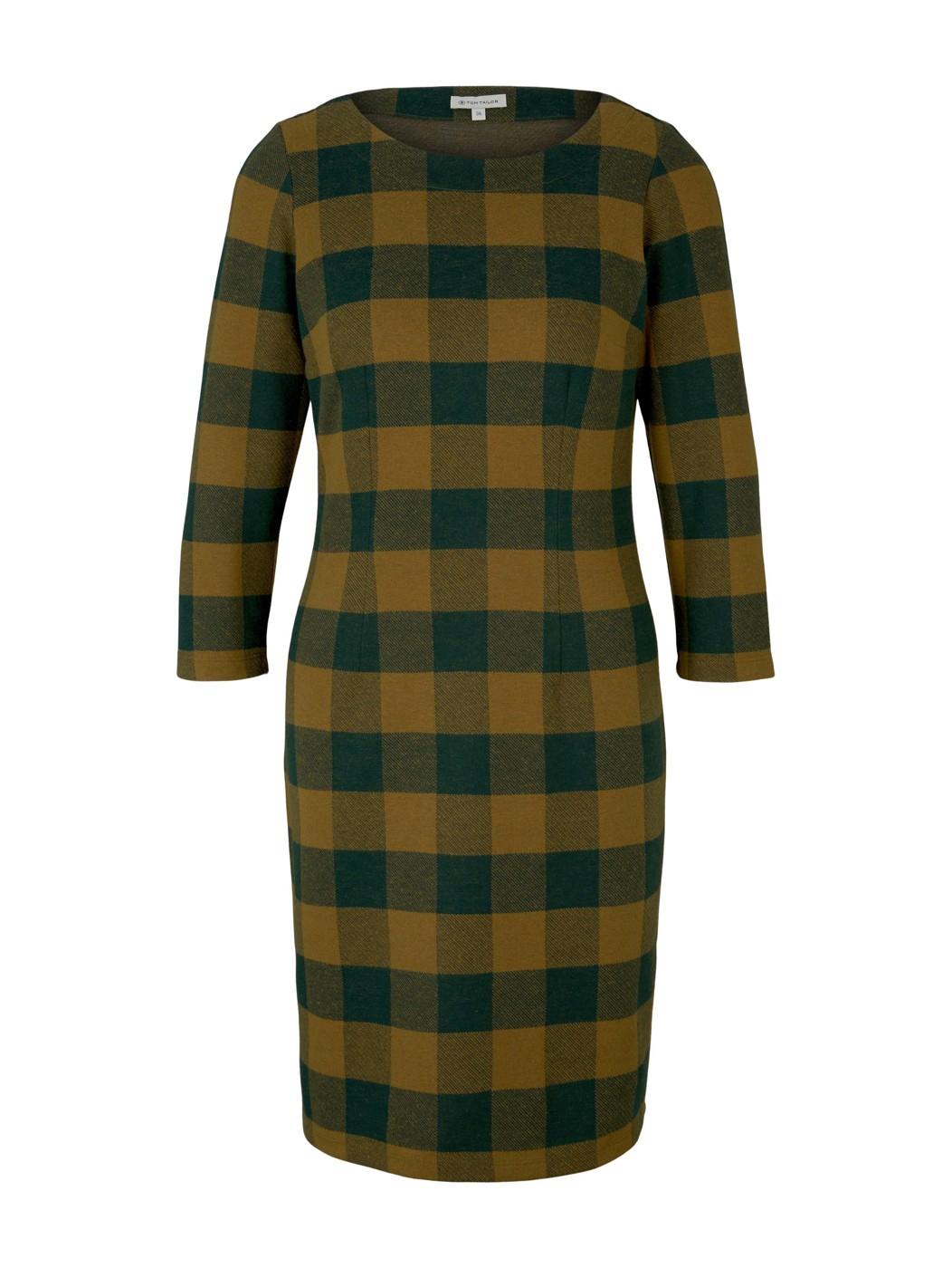 dress brushed check - Damen